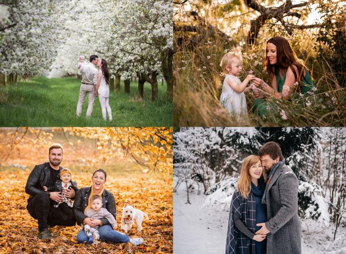 Rodinná fotografie, těhotenské fotografie, fotograf rodin